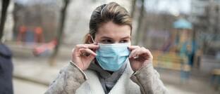 Neuer Alltag mit Mund-Nasen-Schutz