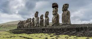 Steinskulpturen auf der Osterinsel