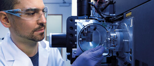 Mitarbeiter eines Labors