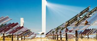 Solarkraftwerk in Andalusien