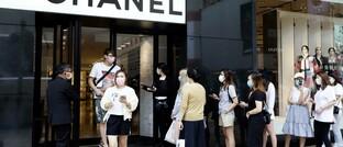Luxus-Boutique in Hongkong