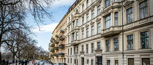 Altbauten im Berliner Stadtteil Kreuzberg