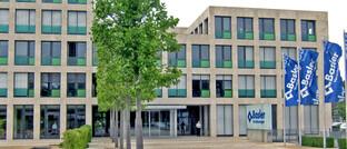 Das Gebäude der Basler Versicherungen in Bad Homburg