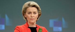 Kommissionspräsidentin Ursula von der Leyen