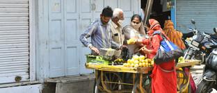 Obstverkäufer in Rajasthan