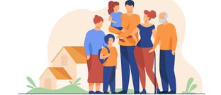 Eine Großfamilie