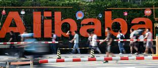 Alibaba-Standort in Hangzhou