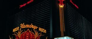Das Flamingo-Hilton in Las Vegas