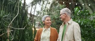 Paar im Seniorenalter