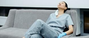 Ärztin macht Pause