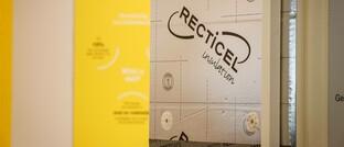 Das Unternehmen Recticel präsentiert sich auf einer Brüsseler Messe