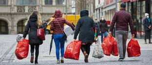 Eifrige Konsumenten trotz Pandemie