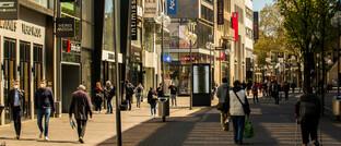 Fußgänger in der Kölner Innenstadt