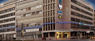 Unternehmenszentrale der Universa in Nürnberg