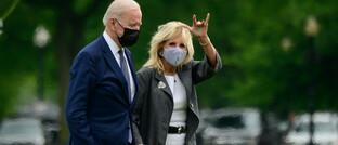 Ehepaar Joe und Jill Biden