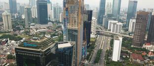 Indonesiens Hauptstadt Jakarta