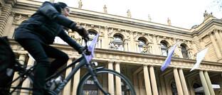 Sitz der Deutschen Börse in Frankfurt