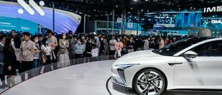 Der L7 vom chinesischen Autobauer Zhiji auf der Auto Shanghai 2021