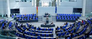 Plenarsitzung des Bundestags