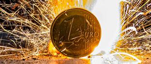 Nochmals nach 2012 könnte der Euro im Feuer stehen