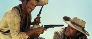 """Eli Wallach (links) und Clint Eastwood im Westernklassiker """"The Good, the Bad and the Ugly"""""""