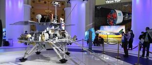 Marsroboter auf einer Messe in Shanghai