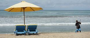 Die Strände von Bali warten auf den Nach-Corona-Ansturm der Gäste