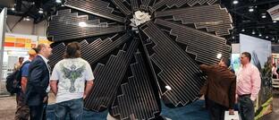 Solar-Messe in Las Vegas, Nevada