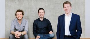 Minveo-Chefetage (von links)