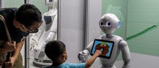 Roboter-Ausstellung im Hongkong