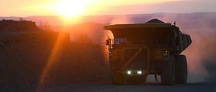 Eisenerzmine in Russland