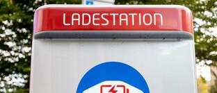 Ladestation für E-Autos in Hamburg