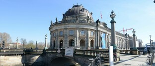 "Bode-Museum in Berlin, aus dem 2017 die Goldmünze ""Big Maple Leaf"" gestohlen wurde"
