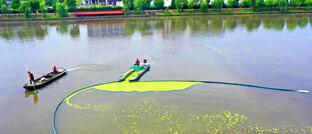 Schiff zur automatischen Reinigung im chinesischen Taizhou