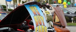 Autohändler in den USA