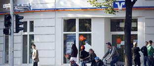 Filiale einer Volksbank Raiffeisenbank
