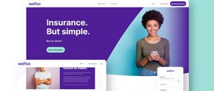 Wefox-Homepage