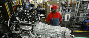 SUV-Motorenproduktion in Dearborn, USA