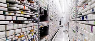 Robotergestütztes Versorgungszentrum eines Apothekenverbunds