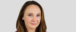 Aktienspezialistin Virginie Maisonneuve