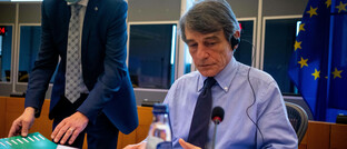 David-Maria Sassoli, Präsident des Europäischen Parlaments