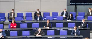 Eine Bundestagsitzung