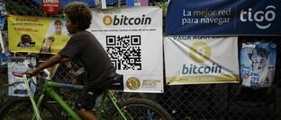 Bitcoin-Werbung in El Salvador