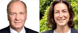 Andreas Heinsen (l.) und Betina Nickel