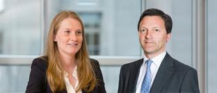 Laura Destribats und Richard Wiseman von Goldman Sachs Asset Management