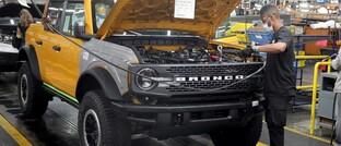 Ford-Fabrik in Michigan, USA