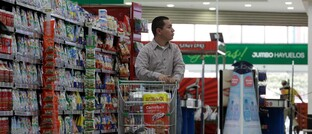 Filiale des chilenischen Einzelhändlers Cencosud in Kolumbien
