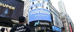"Die New Yorker Nasdaq ""begrüßt"" Coinbase"
