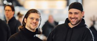 Coindex-Gründer Kai H. Kuljurgis (links) und Sergio Martins Pereira