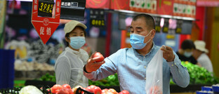 Lebensmitteleinkauf in China
